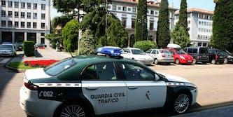 Guadia Civil Spanish police
