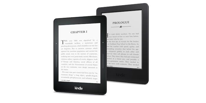 Amazon Kindle Voyage family