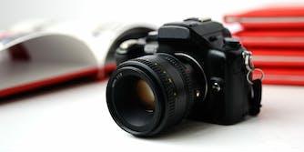 Camera and yearbooks