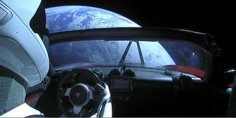 spacex tesla roadster space starman