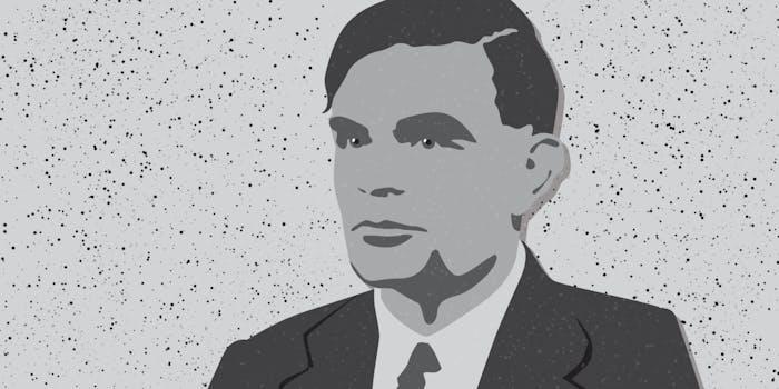 Alan Turing illustration