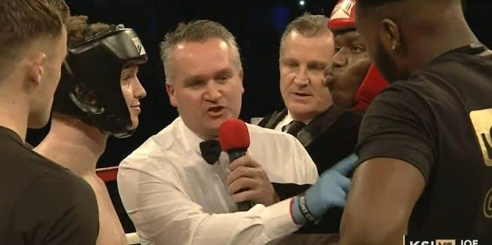 KSI Joe Weller boxing
