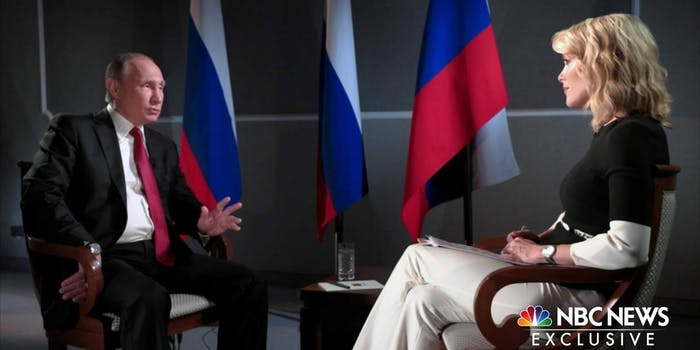 Vladimir Putin Megyn Kelly Russia hacking