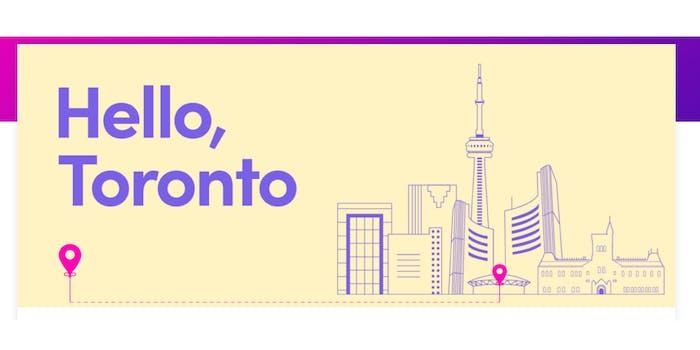 Illustration of Toronto skyline