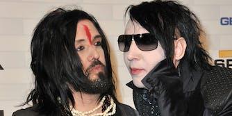 Twiggy Ramirez and Marilyn Manson