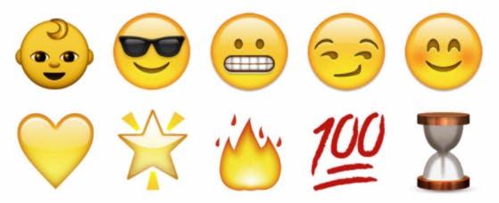 how to use Snapchat: Snapchat emoji