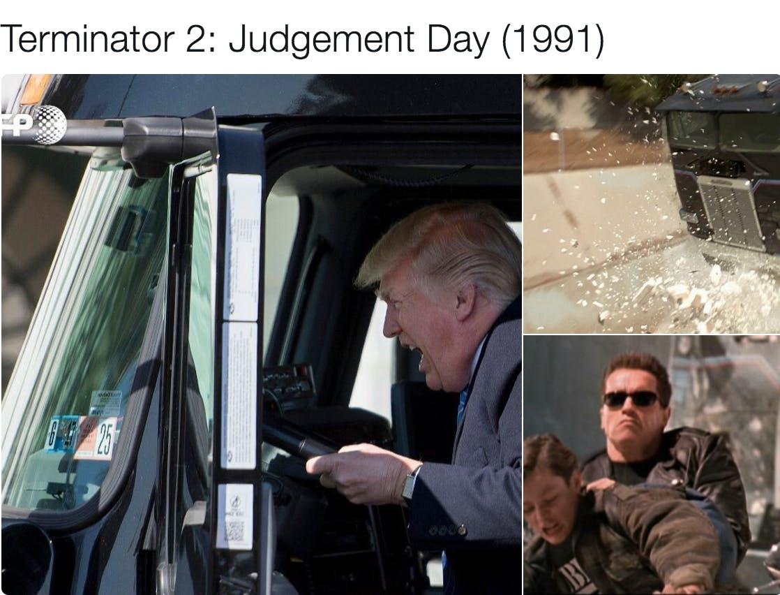 trump memes : Trump Truck