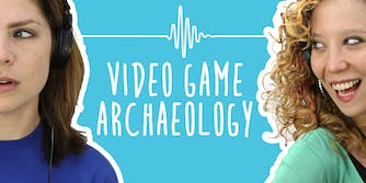 2 Girls 1 Podcast video game archaeology