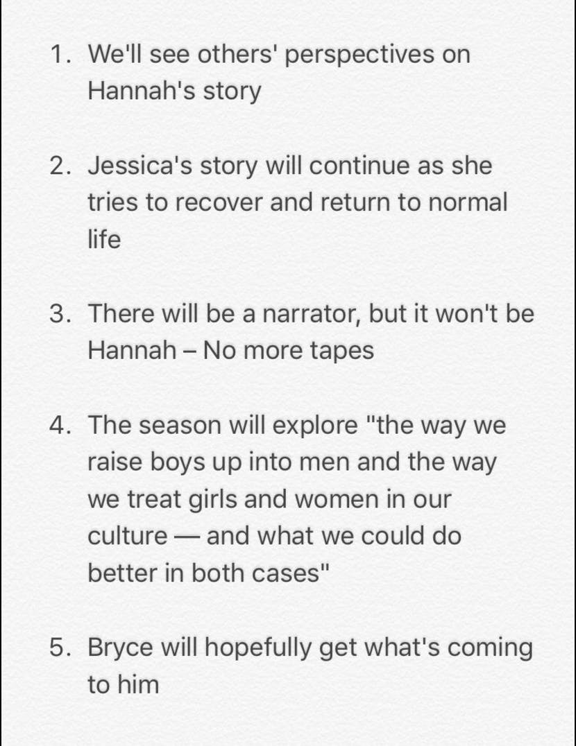 13 reasons why season 2 release date and details