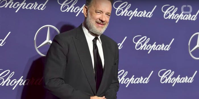 Tom Hanks speaks out against executive Harvey Weinstein in a recent interview with The New York Times