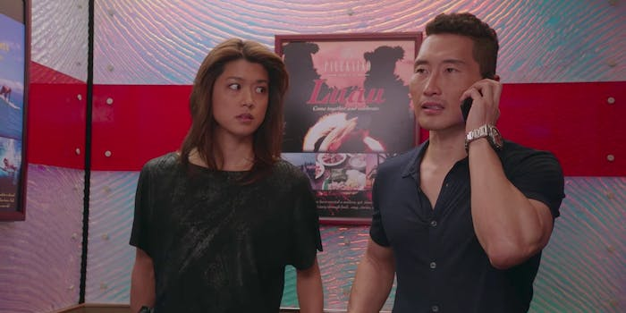 Daniel Dae Kim and Grace Park from 'Hawaii Five-0'
