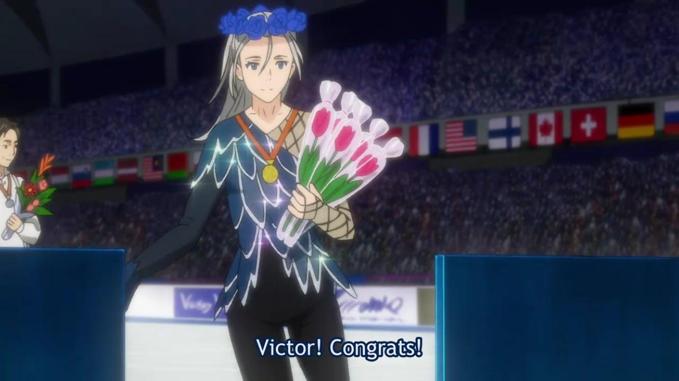 victor yuri flower crown