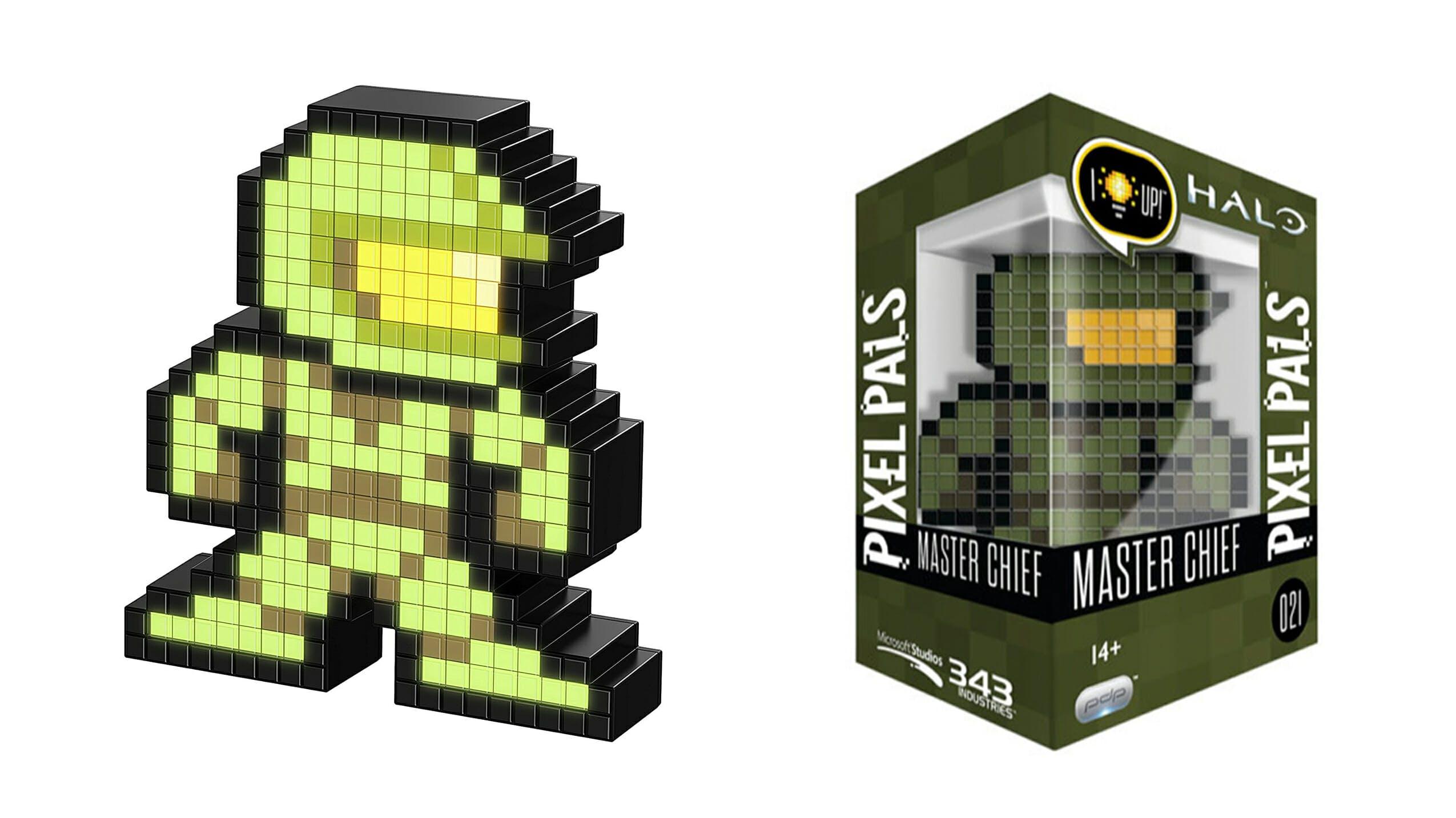 flashy pixel figures