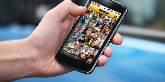 dating apps : grinder