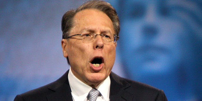 Wayne Lapierre of the NRA