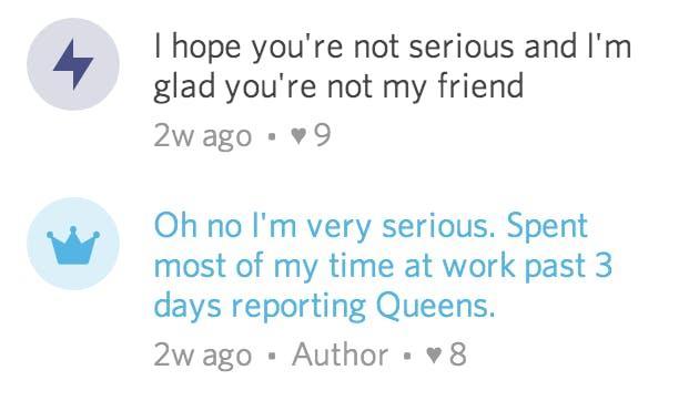 Secret reporter