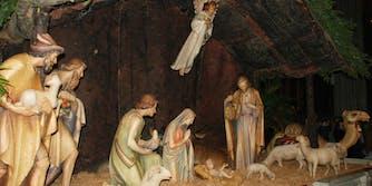 sausage nativity