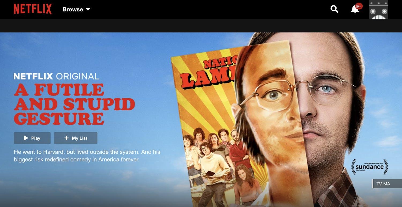 movie streaming sites netflix