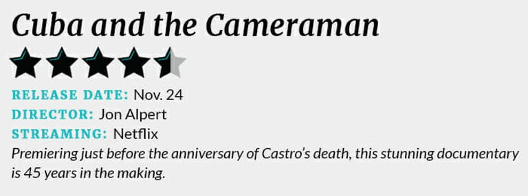 Cuba and the Cameraman review box